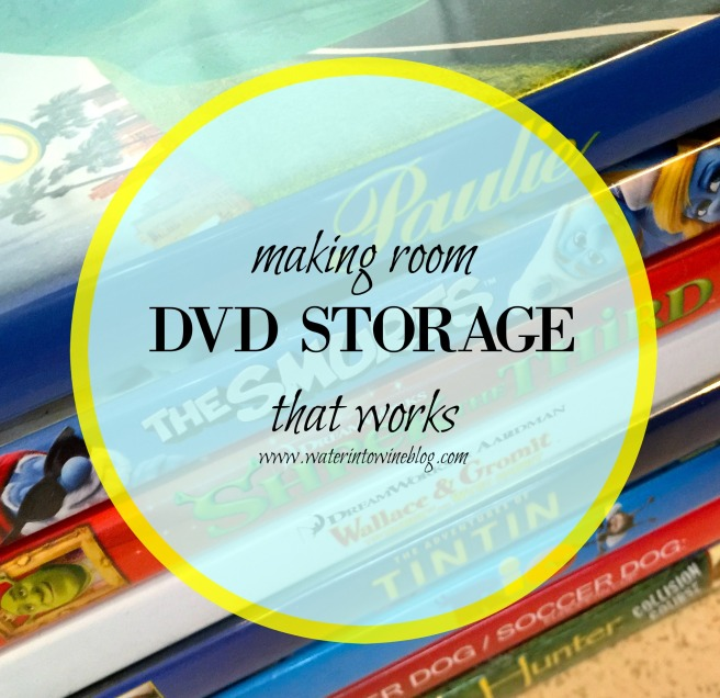 Making Room - DVD Storage That Works