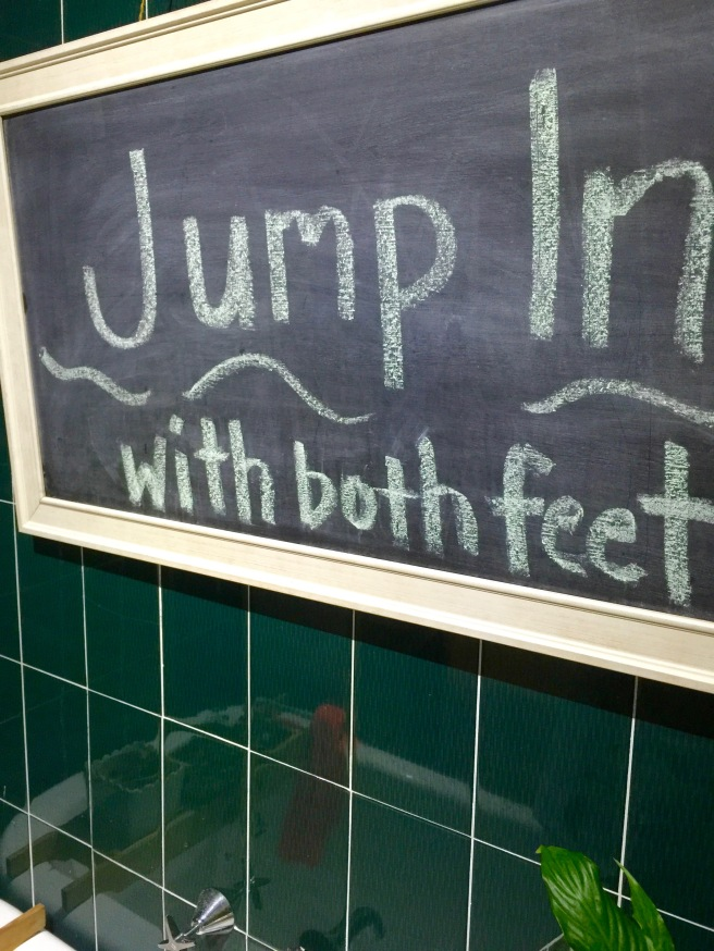 Jump In With Both Feet